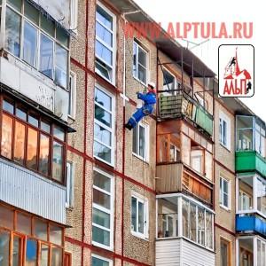 ремонт и герметизация межпанельных швов многоквартирного жилого дома