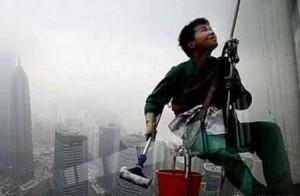 Китайский промышленный альпинист