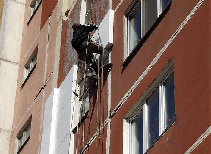 Утепление квартиры на Кирова 19