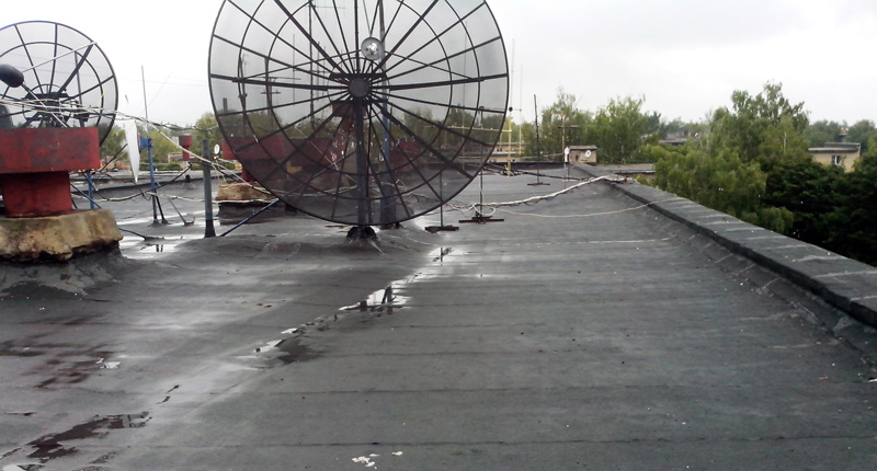 Так крыши выглядели после ремонта