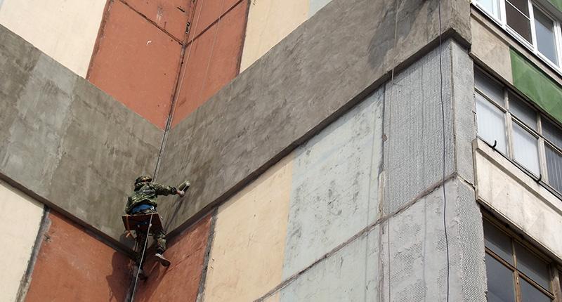 Утепление квартиры на улице Пролетарского